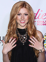 BEVERLY HILLS, CA, USA - AUGUST 09: Actress Katherine McNamara arrives at the DigiTour and Candie's Official Teen Choice Awards 2014 Pre-Party held at The Gibson Showroom on August 9, 2014 in Beverly Hills, California, United States. (Photo by Xavier Collin/Celebrity Monitor)