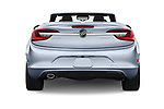Straight rear view of 2018 Buick Cascada Premium 2 Door Convertible Rear View  stock images