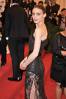 Rooney Mara at the 'Schiaparelli And Prada: Impossible Conversations' Costume Institute Gala at the Metropolitan Museum of Art on May 7, 2012 in New York City. ©mpi03/MediaPunch Inc.