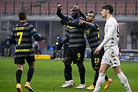 inter-benevento - milano 30 gennaio 2021 - 20° giornata serie A - nella foto: lukaku gol 4-0