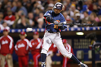 Ichiro Suzuki of Japan during World Baseball Championship at Petco Park in San Diego,California on March 20, 2006. Photo by Larry Goren/Four Seam Images