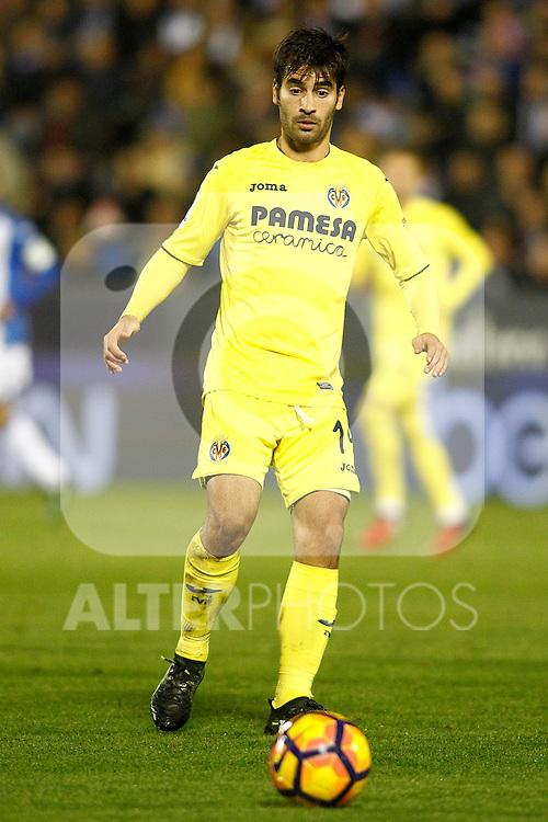 Villarreal CF's Manu Trigueros during La Liga match. December 3,2016. (ALTERPHOTOS/Acero)