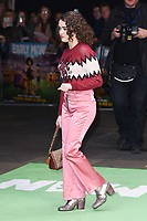 """Maisie Williams<br /> arriving for the """"Early Man"""" world premiere at the IMAX, South Bank, London<br /> <br /> <br /> ©Ash Knotek  D3369  14/01/2018"""