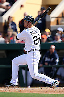 March 5, 2010:  Outfielder Brennan Boesch of the Detroit Tigers during a Spring Training game at Joker Marchant Stadium in Lakeland, FL.  Photo By Mike Janes/Four Seam Images