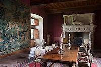 Europe/Europe/France/Midi-Pyrénées/46/Lot/Env de Saint-Céré/ Saint-Jean-Lespinasse: Le Château de Montal - Salle du Cerf [Non destiné à un usage publicitaire - Not intended for an advertising use]