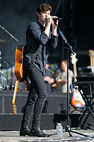 Pictured: Shawn Mendes. Sunday 27 May 2018<br /> Re: BBC Radio 1 Biggest Weekend at Singleton Park in Swansea, Wales, UK.