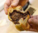 The Hampden Steak Pie. £2.60 for a lava filled pastry wrap. One point off as it falls apart in the tin and a wee bit salty but a solid 7/10