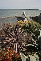 Europe/France/Bretagne/56/Morbihan/Billiers: Domaine de Rochevilaine à la pointe de Pen-Lan - le jardin