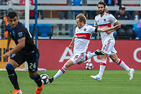 SAN JOSE, CA - MAY 18:  Dax McCarty #6 of the Chicago Fire during a Major League Soccer (MLS) match between the San Jose Earthquakes and the Chicago Fire on May 18, 2019 at Avaya Stadium in San Jose, California.