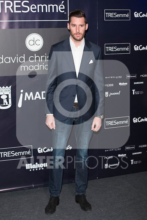 Rudy Fernandez attends MFS in Madrid, Spain. February 09, 2016. (ALTERPHOTOS/Victor Blanco)