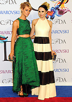 NEW YORK CITY, NY, USA - JUNE 02: Beth Behrs and Stacey Bendet arrive at the 2014 CFDA Fashion Awards held at Alice Tully Hall, Lincoln Center on June 2, 2014 in New York City, New York, United States. (Photo by Celebrity Monitor)