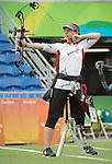 Karen Van Nest, Rio 2016 - Para Archery // Paratir à l'arc.<br /> Karen Van Nest during the Women's Ind. Compound - Open 1/8 Elimination Match // Karen Van Nest lors de l'épreuve individuelle féminine - Match éliminatoire 1/8 Open. 16/09/2016.