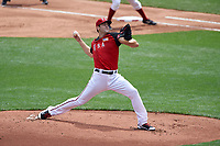 Team USA pitcher Lucas Giolito (27) in action during the MLB All-Star Futures Game on July 12, 2015 at Great American Ball Park in Cincinnati, Ohio.  (Mike Janes/Four Seam Images)