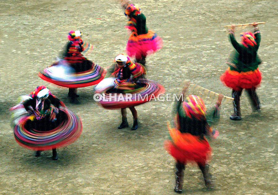 Festa do sol, Inti-Raimi em Lima. Perú. Foto de Juca Martins. Data: 06-1994