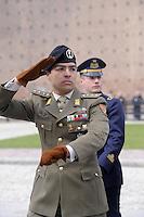 - Italian Army, officer during a military ceremony....- Esercito Italiano, ufficiale durante una cerimonia militare....