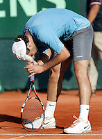 11-7-06,Scheveningen, Siemens Open, rirst round match, Santiago Gonzalez