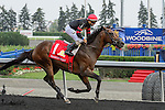 at the Queens Plate at Woodbine Race Course in Toronto, Canada on July 05, 2015.