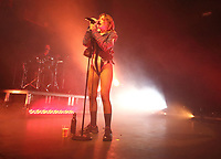 Tove Lo in concert - part of her Sunshine Kitty Tour - at O2 Forum Kentish Town, London on March 12th 2020<br /> <br /> Photo by Keith Mayhew
