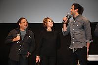 DIDIER BOURDON, NATHALIE BAYE ET TAREK BOUDALI - 20EME FESTIVAL INTERNATIONAL DU FILM DE COMEDIE DE L'ALPE D'HUEZ 2017