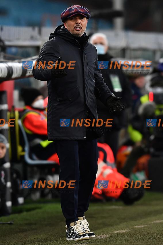 Bologna coach Sinisa Mihajlovic reacts during the Serie A football match between Genoa CFC and Bologna FC at Marassi Stadium in Genova (Italy), January 10th, 2021. Photo Daniele Buffa / Image Sport / Insidefoto