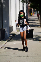 Skai Jackson Eats In & Out In Hollywood