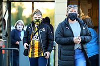 8th September 2020; Abbey Stadium, Cambridge, Cambridgeshire, England; EFL Trophy Football, Cambridge United v Fulham Under 21; Fans enter the Abbey Stadium