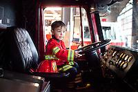 Event - Nicholas' Fire Station Birthday!