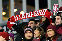 Chester, PA - Friday December 08, 2017: Stanford University ans The Stanford Cardinal defeated the Akron Zips 2-0 during an NCAA Men's College Cup semifinal match at Talen Energy Stadium.