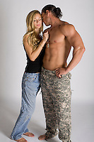 romance novel cover photograph This image is available as an exclusive only. Please contact Jenn with the image number to purchase.<br /> <br /> The entire set of any given pose will be removed from the site with any EXCLUSIVE purchase.<br /> <br /> This image is $550<br /> SET: MILITARY-03