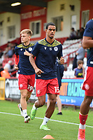Terence Vancooten of Stevenage FC during Stevenage vs Watford, Friendly Match Football at the Lamex Stadium on 27th July 2021