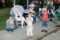 Labor Day Parade - Spectators - Shriners - Bands - Milford, NH - 2 Sept 2019