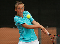 August 8, 2014, Netherlands, Rotterdam, TV Victoria, Tennis, National Junior Championships, NJK,  Sander Jong (NED)<br /> Photo: Tennisimages/Henk Koster