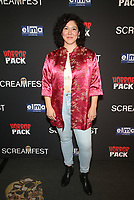 HOLLYWOOD, CA - OCTOBER 12: Anatasha Blakely, at the 21st Screamfest Opening Night Screening Of The Retaliators at Mann Chinese 6 Theatre in Hollywood, California on October 12, 2021. Credit: Faye Sadou/MediaPunch