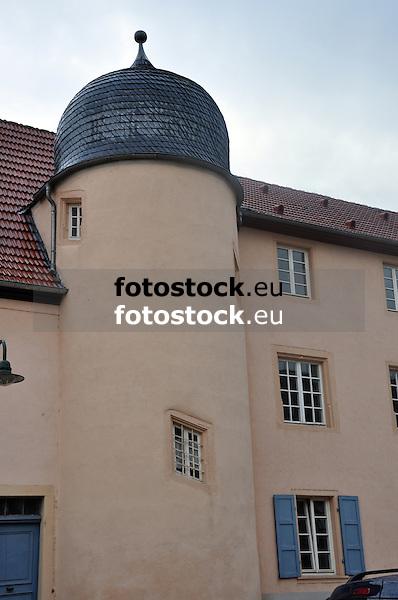 Obentrauischer Hof, Renaissancebau aus dem 16. und 17. Jh, mit rundem Treppenturm