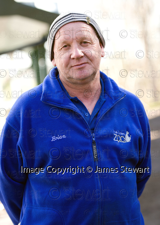 Brian Curran, owner of the Five Sisters Zoo in West Lothian.