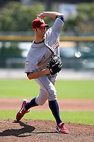 August 22 2008:  Starting pitcher J.A. Happ of the Lehigh Valley IronPigs, Class-AAA affiliate of the Philadelphia Phillies, during a game at Dunn Tire Park in Buffalo, NY.  Photo by:  Mike Janes/Four Seam Images