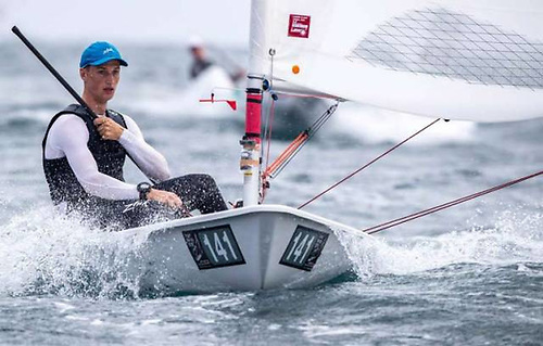 Ewan McMahon (20) from Howth was the Silver medallist at the Laser Radial Youth World Championships in 2016