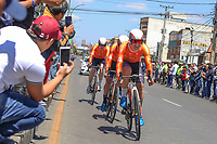 TUNJA - COLOMBIA, 11-02-2020: RALLY CYCLING, USA durante la primera etapa del Tour Colombia 2.1 2020 con un recorrido de 16,7 km CRE, que se corrió con salida y llegada enTunja, Boyacá. / RALLY CYCLING, USA during the first stage of 16,7 km TTT of Tour Colombia 2.1 2020 that ran with start and arrival in Tunja, Boyaca.  Photo: VizzorImage / Darlin Bejarano / Cont