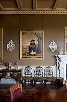 Sir Joshua Reynolds's Winter, a portrait of Caroline Scott, 1777, in the dining room