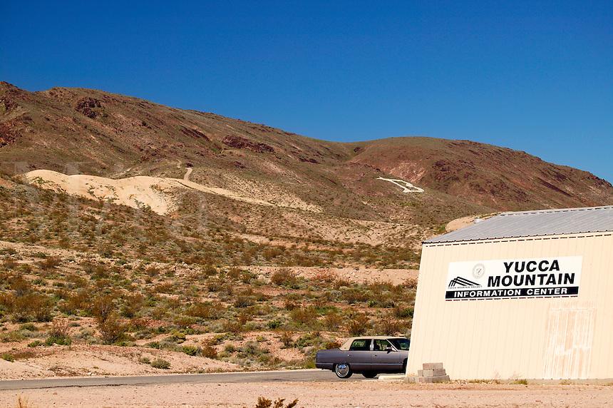 Yucca Mountain Information Center, Beatty, California