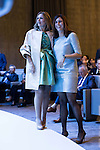 """Ainhoa Arteta and Edurne Pasaban during the 6th edition of the collecting badges to the new ambassadors fees """"Marca España"""" in his 6th edition at BBVA City in Madrid, November 12, 2015.<br /> (ALTERPHOTOS/BorjaB.Hojas)"""