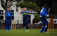 Action from the Joy Lamason One Day Wellington premier women's division one cricket match between Hutt Districts and Johnsonville at Hutt Recreation Ground in Lower Hutt, New Zealand on Saturday, 21 November 2020. Photo: Dave Lintott / lintottphoto.co.nz