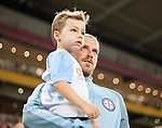 BRISBANE, AUSTRALIA - OCTOBER 30: Luke Brattan of Melbourne walks out during the round 5 Hyundai A-League match between the Brisbane Roar and Melbourne City at Suncorp Stadium on November 4, 2016 in Brisbane, Australia. (Photo by Patrick Kearney/Brisbane Roar)
