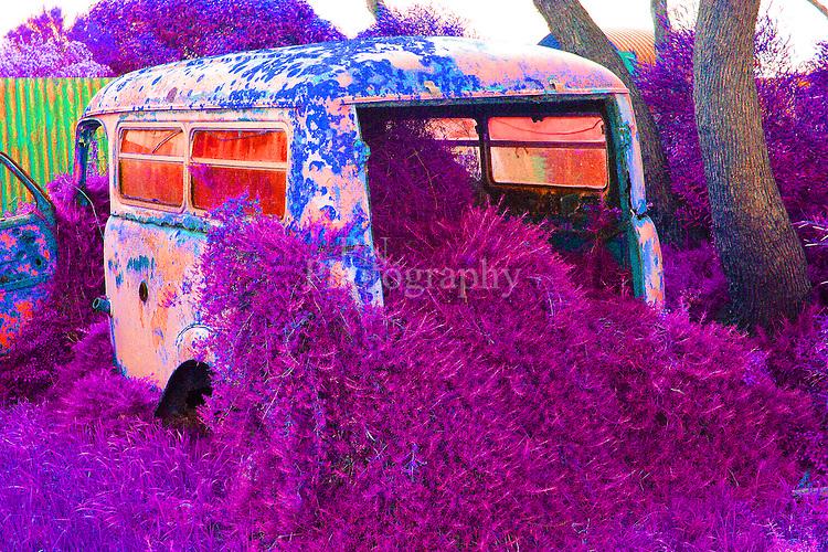 Old Van Photographed at Emu Bay Kangaroo Island