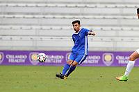 Orlando, Florida - Saturday January 13, 2018: Jose Carrera-Garcia. Match Day 1 of the 2018 adidas MLS Player Combine was held Orlando City Stadium.