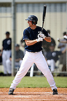 February 22, 2009:  Outfielder Matt Burnett (24) of the University of Connecticut during the Big East-Big Ten Challenge at Naimoli Complex in St. Petersburg, FL.  Photo by:  Mike Janes/Four Seam Images