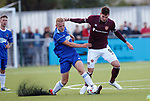 18.07.18 Cove Rangers v Hearts: Kyle Lafferty and Harry Milne
