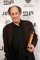 Gabriel Arcand, meilleur acteur de soutien<br /> Best supporting actor at 2007 Jutas awards<br /> February 18 2007<br /> photo : Pierre Roussel (c)  Images Distribution