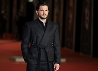 """British actor Kit Harington poses  on the red carpet for the screening of the film """"Eternals at the 16th edition of the Rome Film Fest in Rome, on October 24, 2021.<br /> UPDATE IMAGES PRESS"""