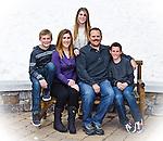 Family portrait, Mammoth Lakes, California